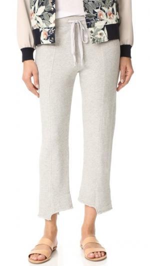 Укороченные спортивные брюки Shifted Wilt. Цвет: серый меланжевый