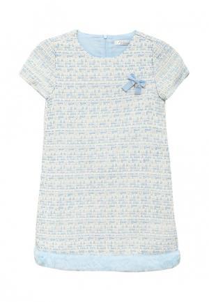 Платье Vitacci. Цвет: голубой