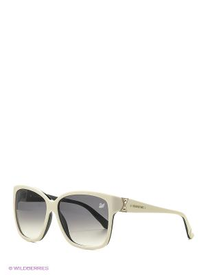 Солнцезащитные очки SK 0057 25В Swarovski. Цвет: белый