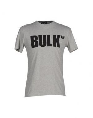 Футболка BULK. Цвет: светло-серый