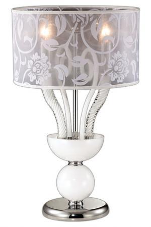 Настольная лампа ODEON LIGHT. Цвет: хром, белый