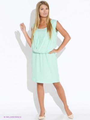 Платье Oky Coky. Цвет: зеленый
