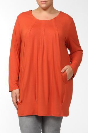 Туника Qneel. Цвет: оранжевый