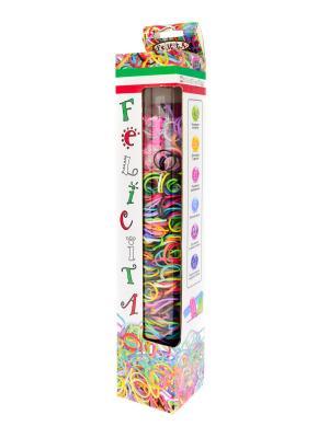 FELICITA. Развивающий набор для плетения браслетов из резиночек (6-1) АНДАНТЕ. Цвет: синий, зеленый, красный