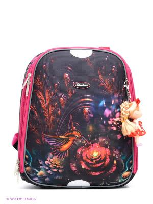 Рюкзак STERNBAUER. Цвет: черный, малиновый