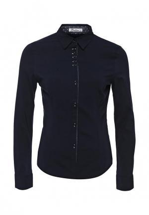 Рубашка Pinkline. Цвет: синий