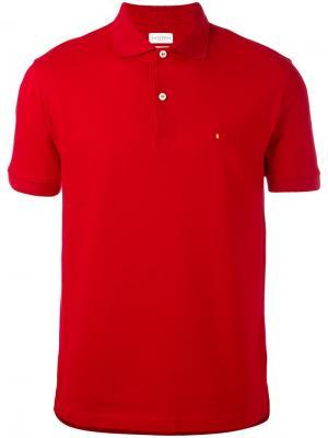 Футболка-поло с логотипом Ballantyne. Цвет: красный