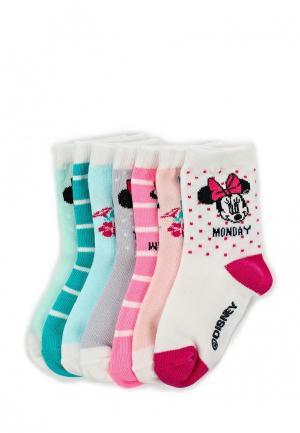 Комплект носков 7 пар Gap. Цвет: разноцветный