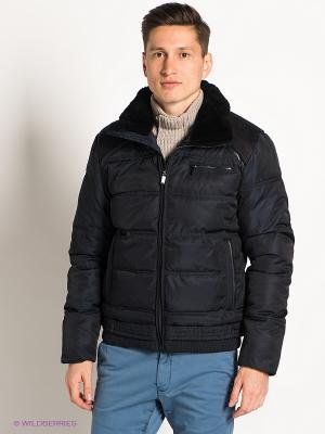 Куртка GroStyle. Цвет: темно-синий