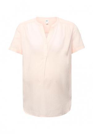 Блуза Gap Maternity. Цвет: розовый
