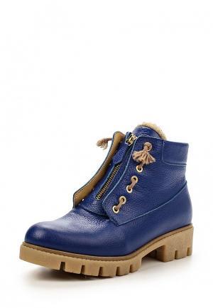 Ботинки Allegri. Цвет: синий