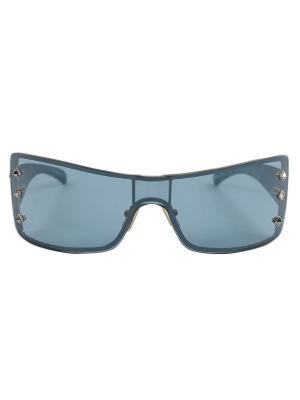 Солнцезащитные очки Digel. Цвет: черный, антрацитовый, серо-голубой