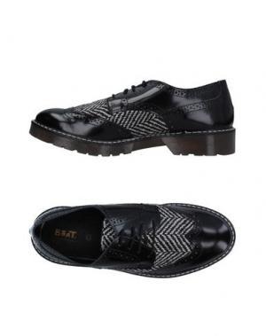 Обувь на шнурках BEAT GENERATION. Цвет: черный
