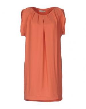 Короткое платье LOU LONDON. Цвет: лососево-розовый