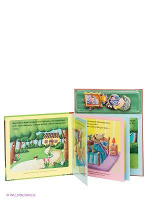 Магнитная книжка Красная шапочка Магнитные книжки. Цвет: зеленый
