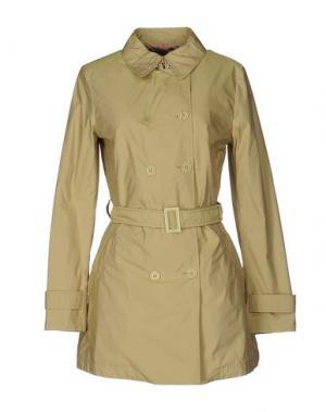 Легкое пальто MABRUN. Цвет: кислотно-зеленый