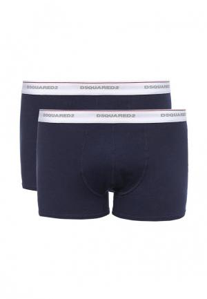 Комплект трусов 2 шт. Dsquared Underwear. Цвет: синий