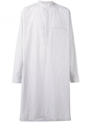 Steph long shirt Lemaire. Цвет: белый
