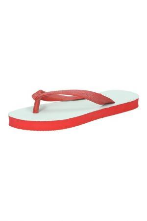 Шлепанцы American Apparel. Цвет: красный