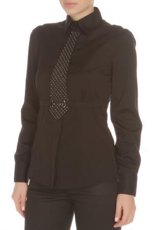 Блуза Roccobarocco. Цвет: черный, серый
