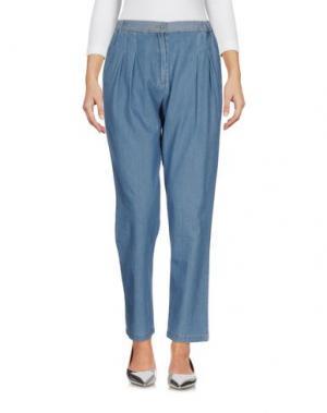 Джинсовые брюки NICE THINGS by PALOMA S.. Цвет: синий