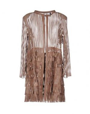Легкое пальто CABAN ROMANTIC. Цвет: светло-коричневый