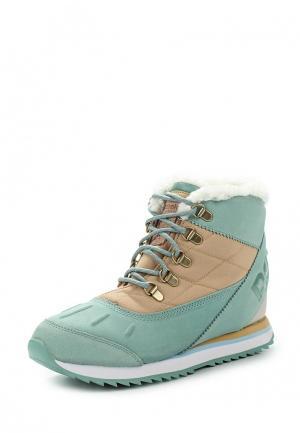 Ботинки Reebok Classics. Цвет: бирюзовый
