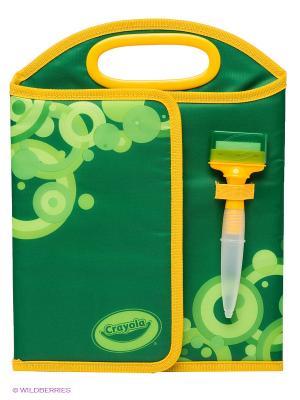 Дорожный набор Doodle magic Crayola. Цвет: зеленый