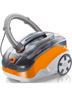 Пылесос моющий Thomas Twin Pet & Family 1700Вт серый/оранжевый. Цвет: серый
