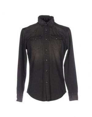 Джинсовая рубашка BLK DNM. Цвет: стальной серый