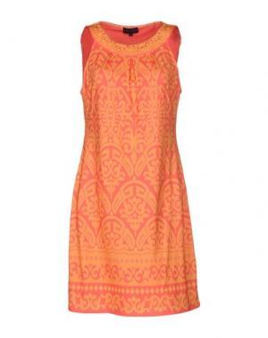Короткое платье HALE BOB. Цвет: оранжевый