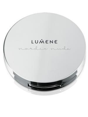 Lumene Nordic Nude Невесомая компактная пудра № 4, оттенок  средне-бежевый. Цвет: бежевый