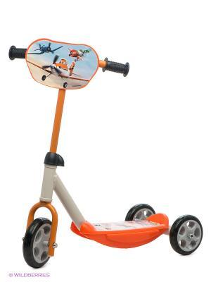 Самокат 3-х колесный Smoby. Цвет: оранжевый