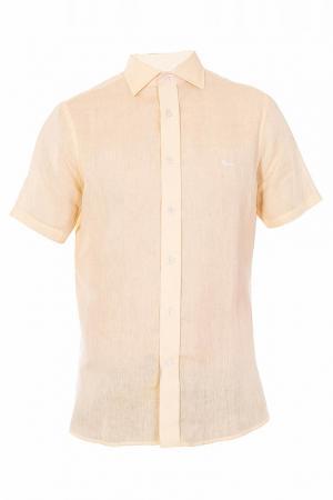 Рубашка Harmont&Blaine. Цвет: желтый