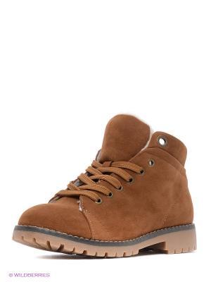 Ботинки KEDDO. Цвет: светло-коричневый