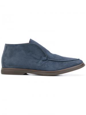 Hi-top loafers Andrea Ventura. Цвет: синий