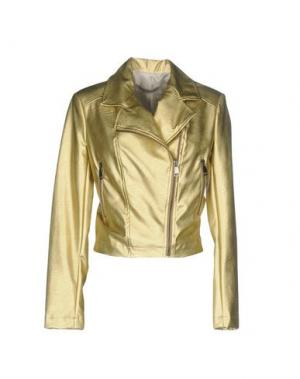 Куртка PAOLO CASALINI. Цвет: золотистый