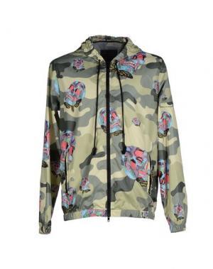 Куртка FIFTEEN AND HALF. Цвет: зеленый-милитари