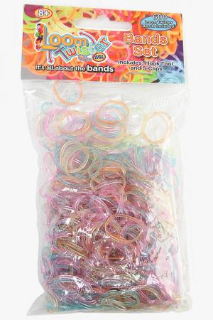 Наборы для плетения из резинок LOOM TWISTER. Цвет: мультицвет