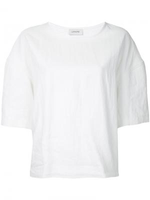 Crew-neck T-shirt Lemaire. Цвет: белый