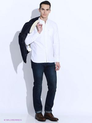 Рубашка Levi's®. Цвет: белый