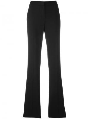 Эластичные расклешенные брюки Tom Ford. Цвет: чёрный