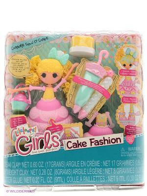 Игрушка кукла Lalaloopsy Girls Сладкая фантазия, Мастика. Цвет: желтый, розовый