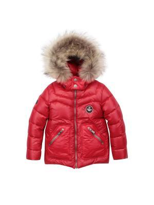 Куртка Pulka. Цвет: красный