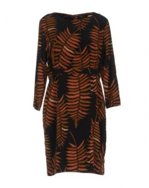 Короткое платье NICE THINGS by PALOMA S.. Цвет: черный