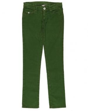 Повседневные брюки NOLITA POCKET. Цвет: зеленый