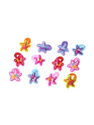 Резинки для волос (12 шт.) Migura. Цвет: розовый, сиреневый, оранжевый