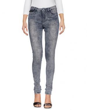 Джинсовые брюки GARCIA JEANS. Цвет: свинцово-серый