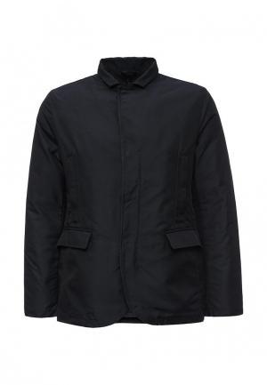Куртка утепленная DKNY. Цвет: синий