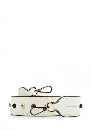 Ремень для сумки Cromia. Цвет: белый